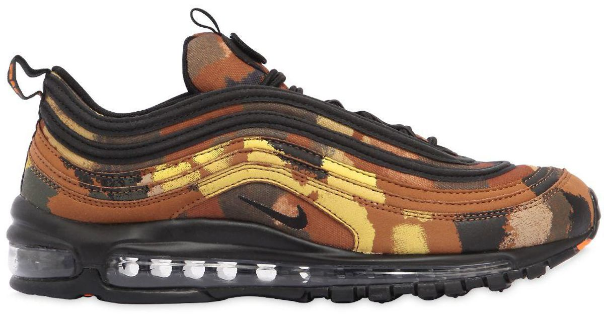 finest selection 57bb7 c0bf8 Nike Air Max 97 Camo Pack Italy Sneakers for Men - Lyst