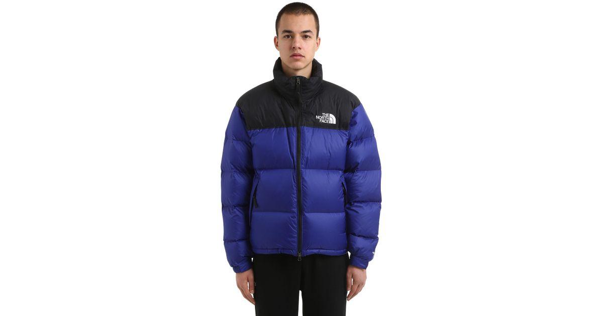1e322e7e6ebb The North Face 1996 Retro Nuptse Down Jacket in Blue for Men - Lyst
