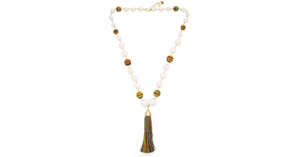Rosantica Arlecchino tassel necklace AwlOHBh