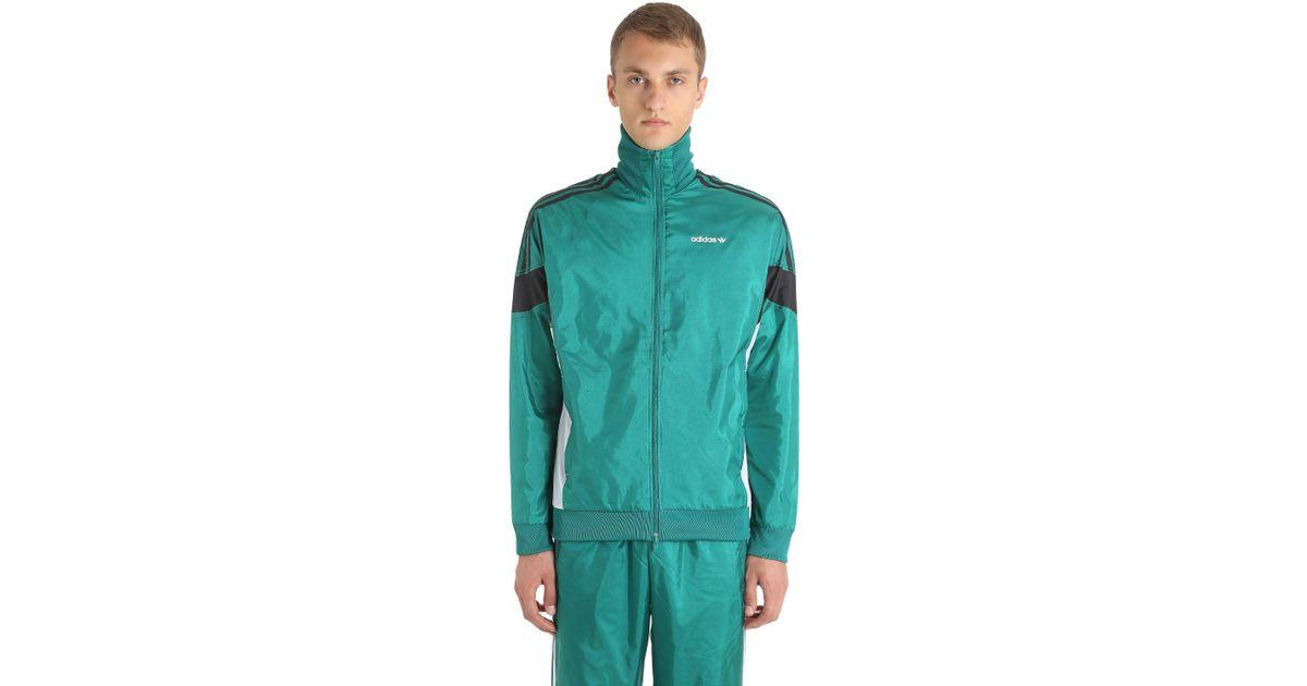1fd322f58 adidas Originals Clr-84 Woven Nylon Track Jacket in Green for Men - Lyst