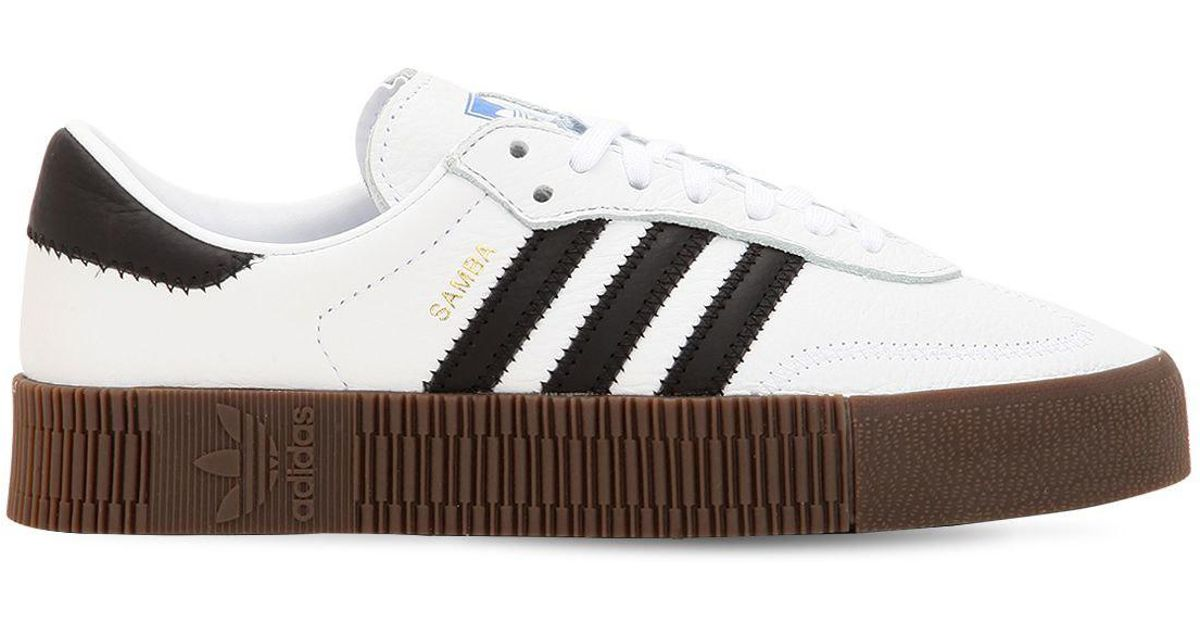 adidas Originals Samba Rose Bold Platform Sneakers in White - Save 47% -  Lyst 982f4eae70