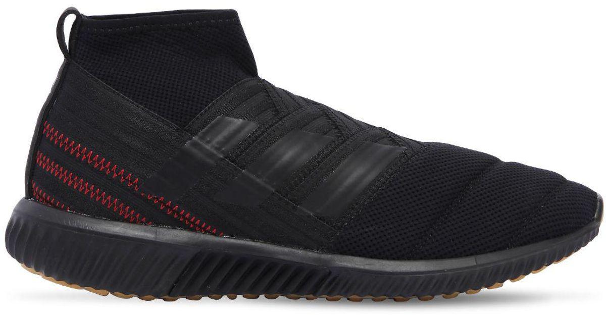 2ccbda5a2824 Lyst - adidas Originals Nemeziz Mid Cut Tr Sneakers in Black for Men