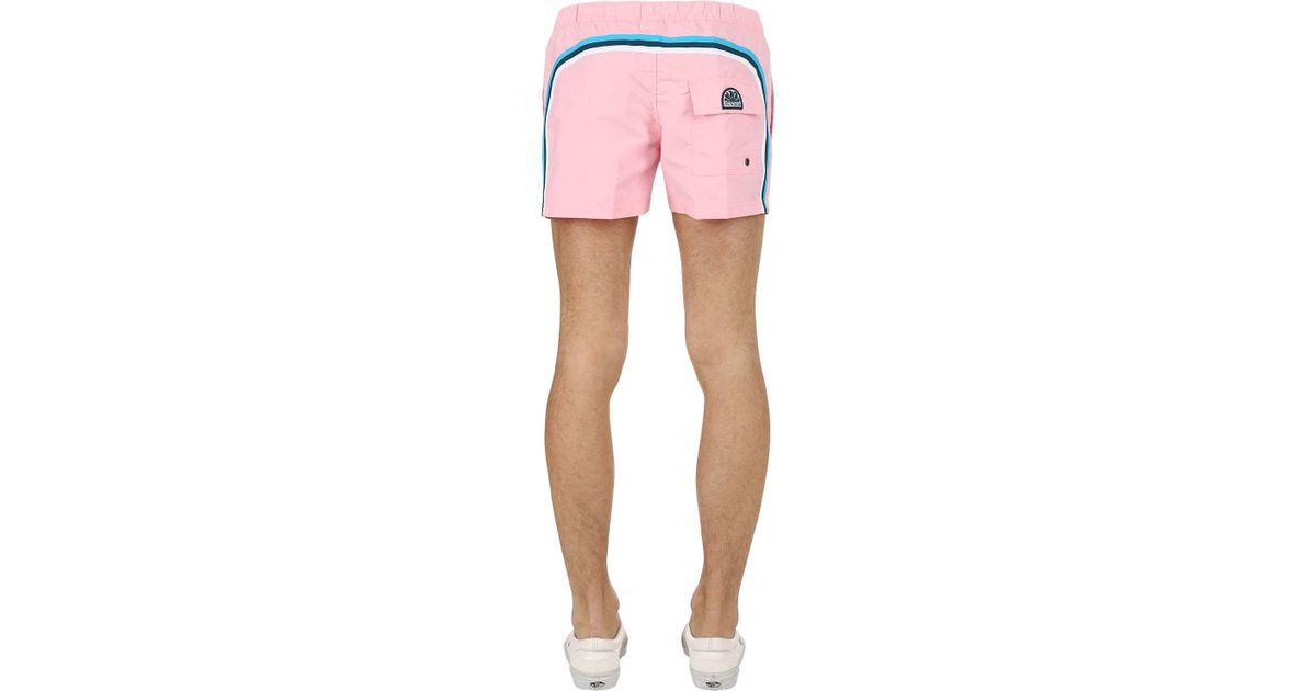 Low Shipping For Sale NYLON SWIM SHORTS W/ BELT Discount Best Clearance New Styles For Sale Sale Online VZ5act9FV