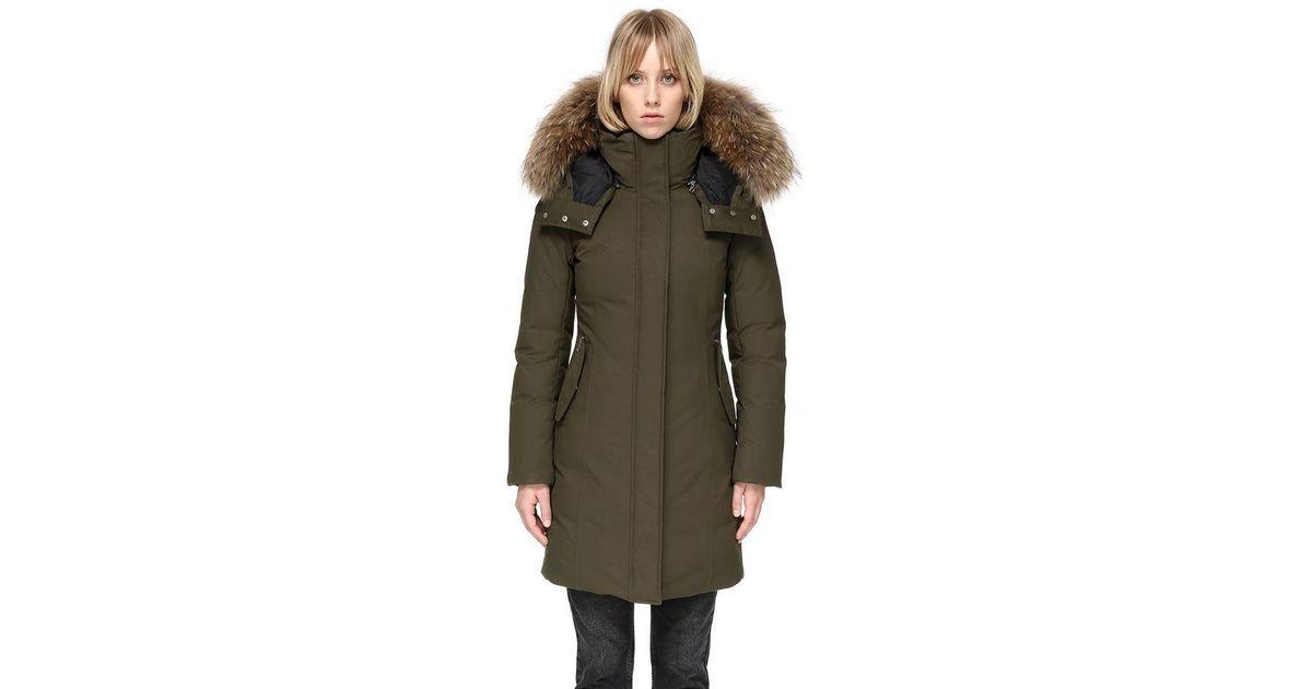 a868ba831eb52 Lyst - Mackage Kerry Winter Down Coat in Green