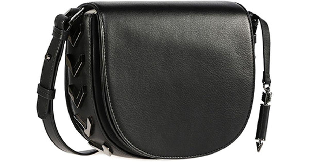 official professional design fine craftsmanship Mackage Rima Black Small Crossbody Saddle Bag