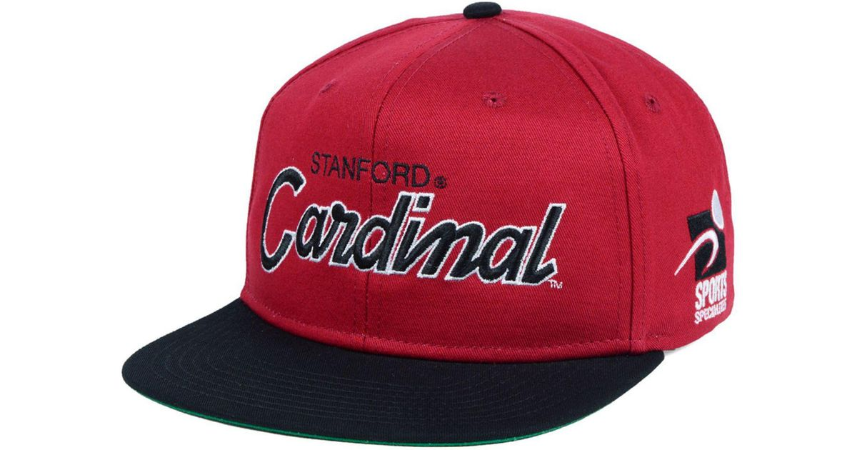 Lyst - Nike Stanford Cardinal Sport Specialties Snapback Cap in Red for Men b006e7f201b5