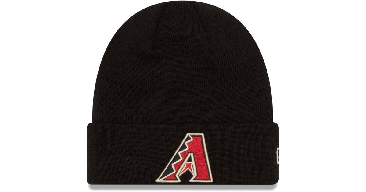 5231755c5 KTZ - Black Chicago White Sox Basic Cuffed Knit Hat for Men - Lyst