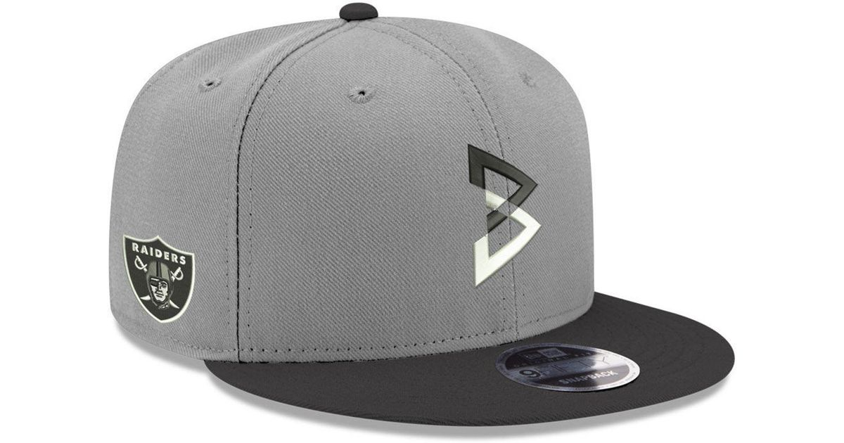 fd588dce41fa5 Lyst - KTZ Beast Mode 9fifty Snapback Cap in Gray for Men