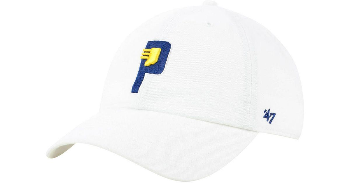 quality design a367c 1cde9 47 Brand Indiana Pacers Mash Up Clean Up Cap in White for Men - Lyst