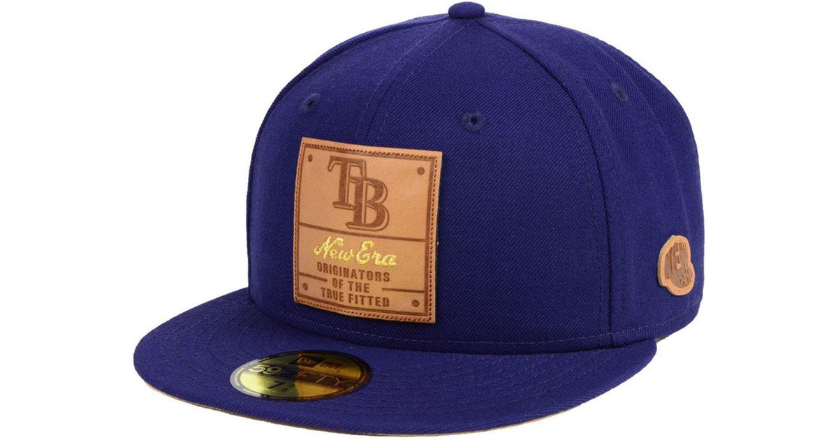 huge selection of 74a53 86179 Lyst - KTZ Tampa Bay Rays Vintage Team Color 59fifty Fitted Cap in Blue for  Men
