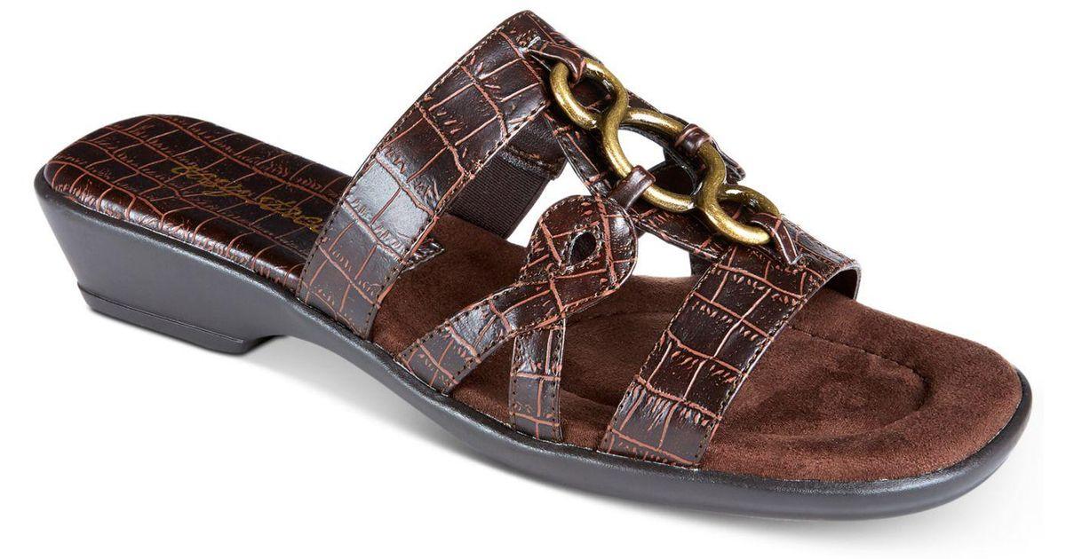 3d30a2aaaaab Lyst - Easy Street Torrid Sandals in Brown