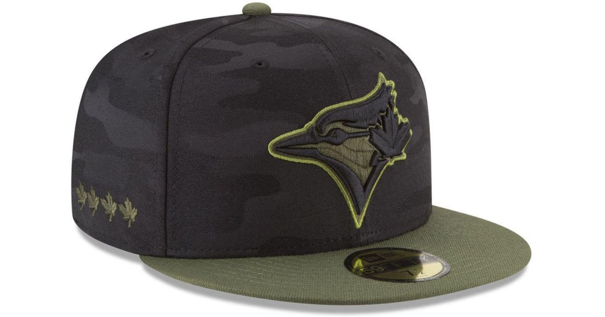 454307415cc Lyst - Ktz Toronto Blue Jays Memorial Day 59fifty Fitted Cap for Men