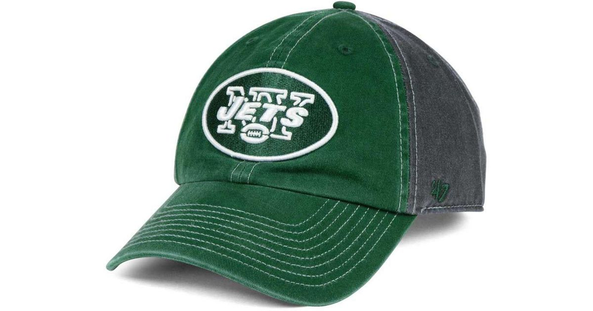 best service 09dd0 5b354 ... discount code for lyst 47 brand new york jets transistor clean up cap  in gray for