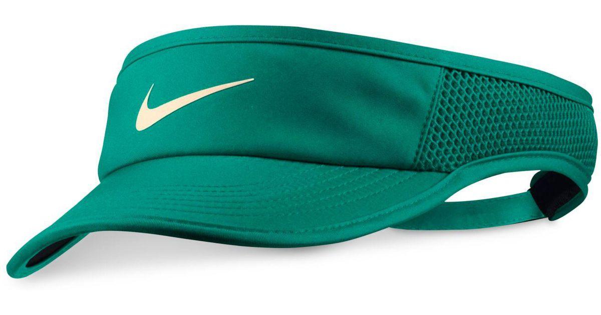 abe93fe4feb Lyst - Nike Court Aerobill Tennis Visor in Green