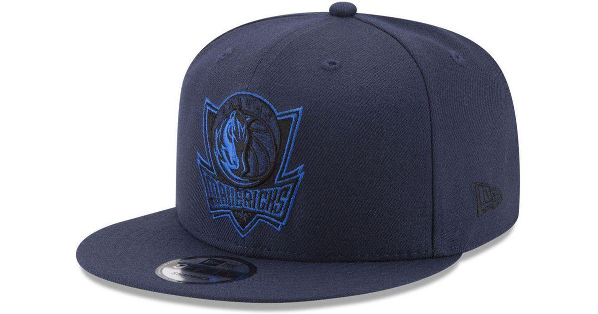 c317c379a41 Lyst - Ktz Dallas Mavericks All Colors 9fifty Snapback Cap in Blue for Men