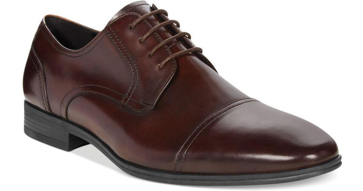 Kenneth Cole Reaction In A Minute Cap Toe Dress Shoes