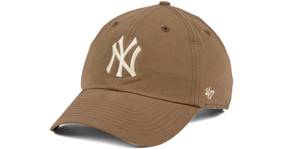a0f1928e6ee Lyst - 47 Brand Harvest Clean Up Cap in Brown for Men