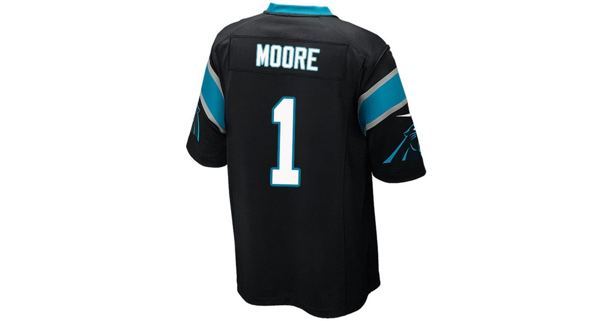 huge discount e2b76 a9499 Nike - Black D.j. Moore Carolina Panthers Game Jersey for Men - Lyst