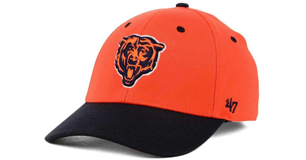 quality design 6c844 4af1a 47 Brand Kickoff 2-tone Contender Cap in Orange for Men - Lyst