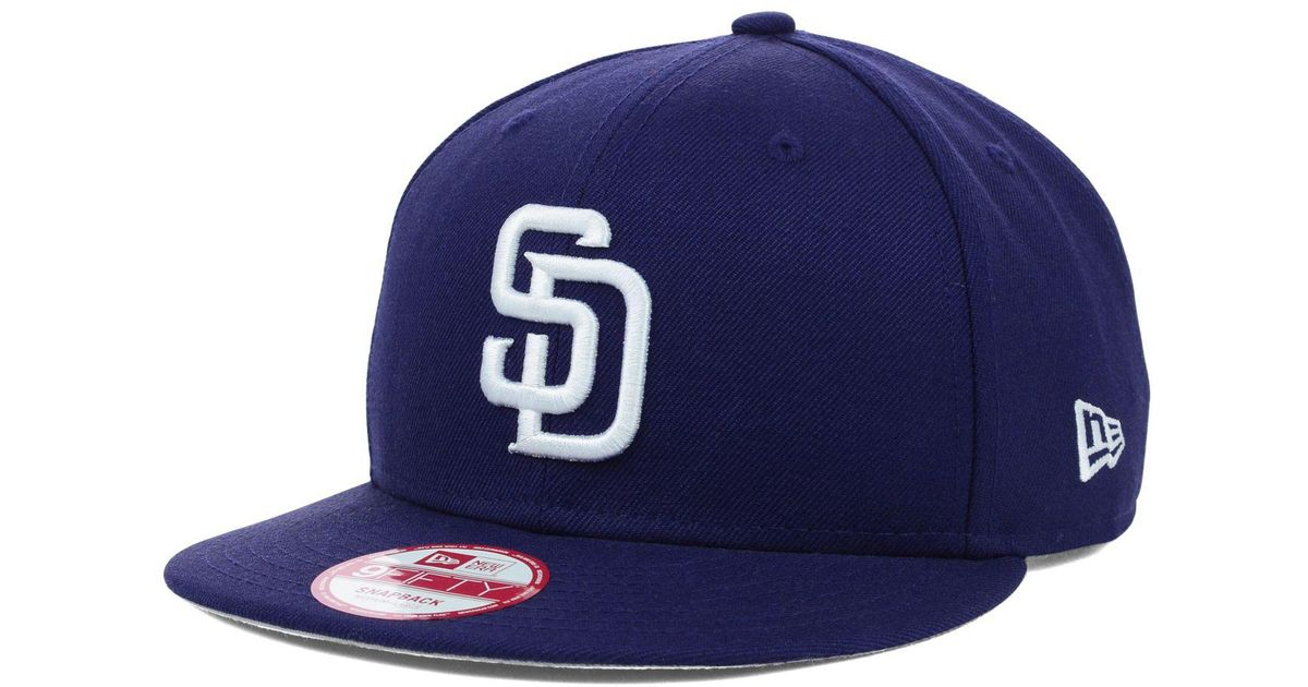 los angeles 15833 5c69d Lyst - KTZ San Diego Padres Mlb 2 Tone Link 9fifty Snapback Cap in Blue for  Men