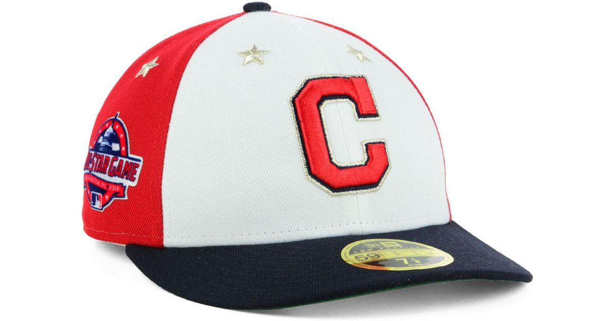 ... free shipping lyst ktz cleveland indians all star game patch low  profile 59fifty fitted cap 2018 ae0a47662d9b