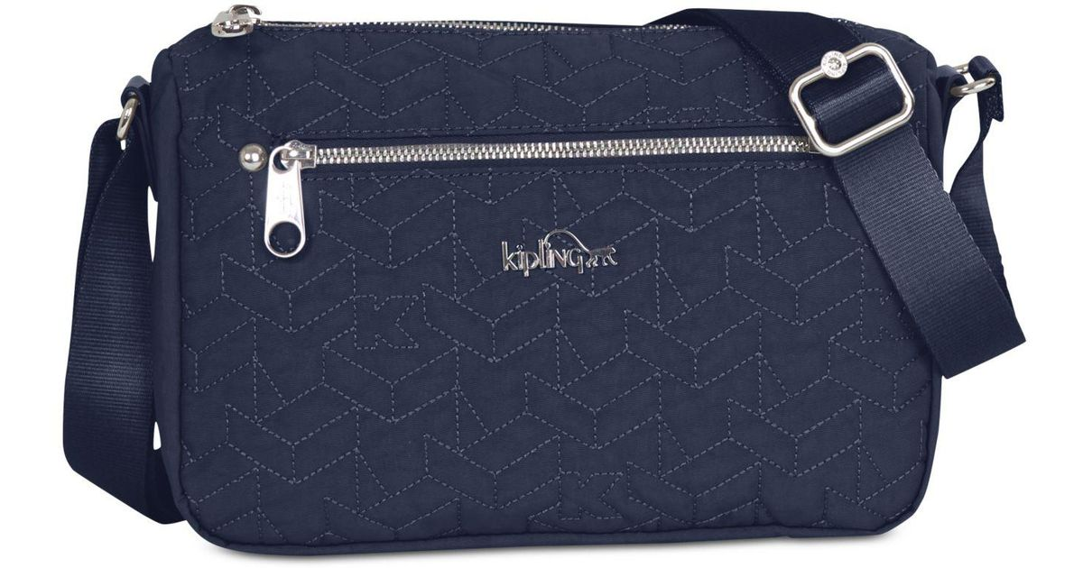 colours and striking a few days away good selling Kipling - Blue Callie Small Quilted Crossbody - Lyst