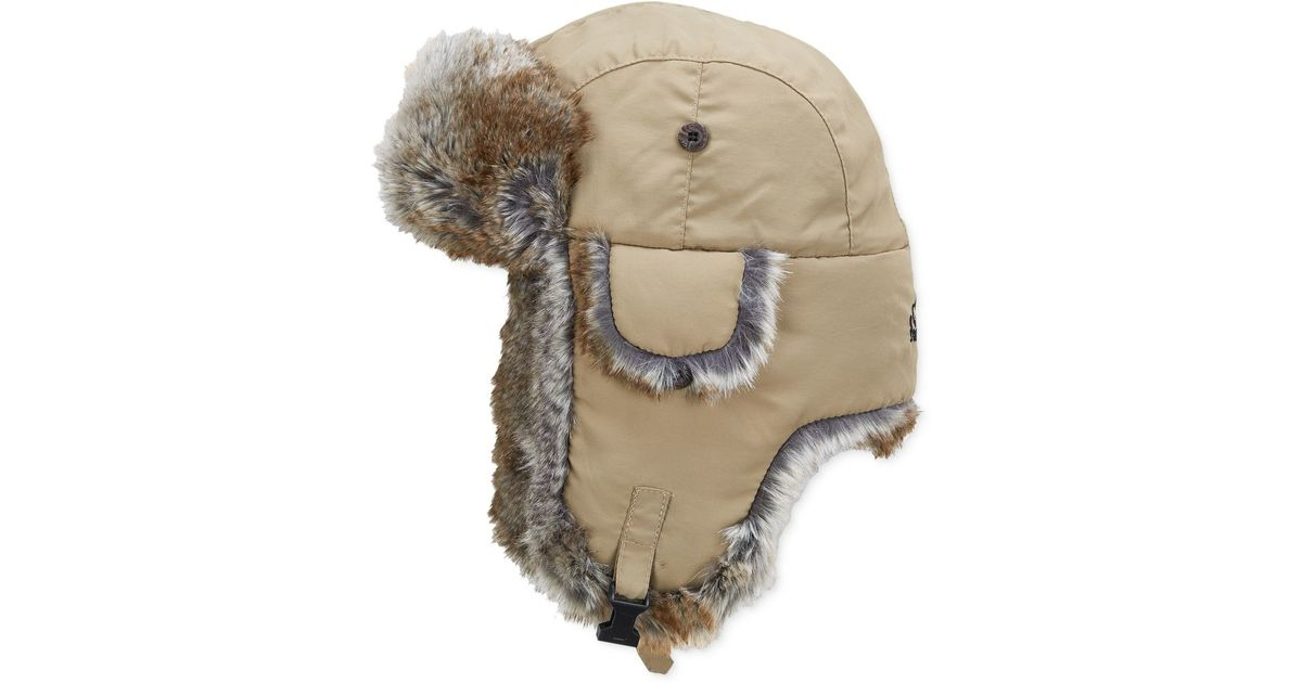 c0785524e70e3 Lyst - Woolrich Water Resistant Supplex Nylon Trapper Hat in Natural for Men