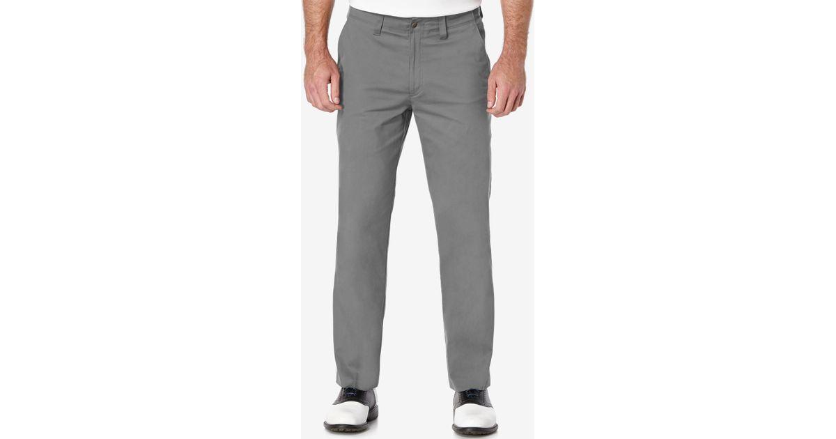 pga tour men u0026 39 s performance golf pants in gray for men