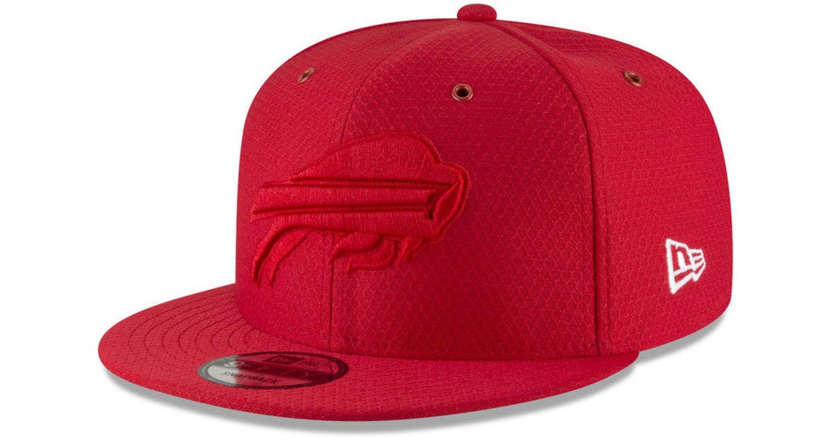 ... ireland lyst ktz buffalo bills on field color rush 9fifty snapback cap  in red for men 324c0e5d3