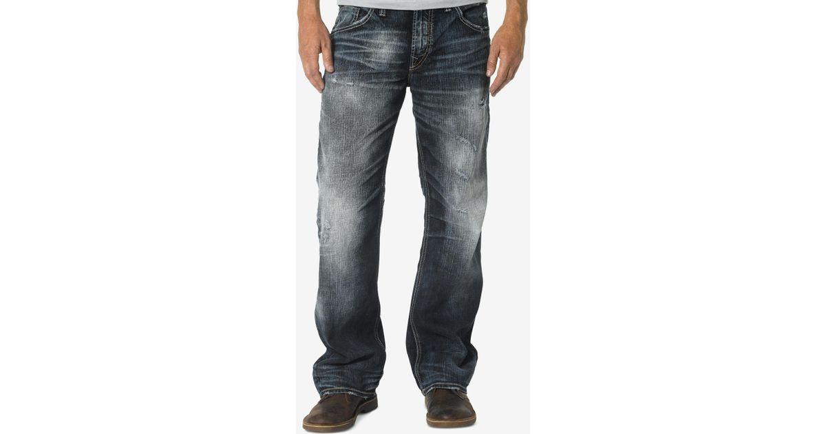 Mens Silver Zac Jeans