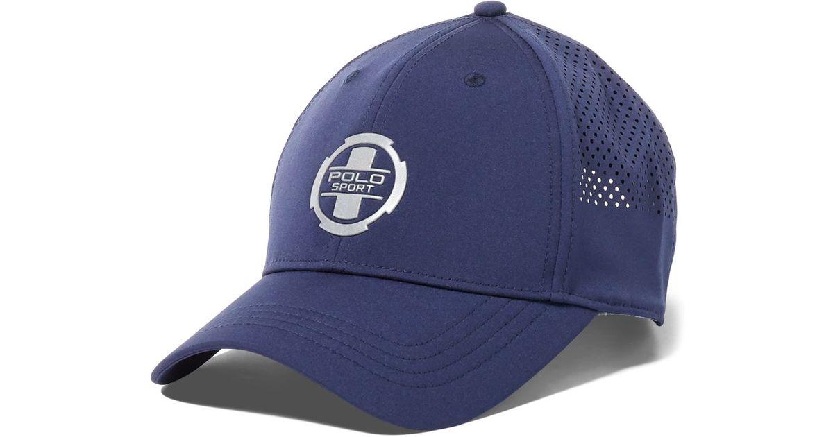 29946398 Lyst - Polo Ralph Lauren Polo Sport Men's Spandex Baseline Cap in Blue for  Men