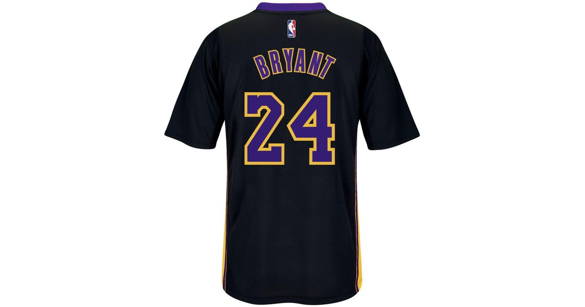 dca9adc17fd5 ... coupon code lyst adidas originals mens short sleeve kobe bryant los  angeles lakers swingman jersey in
