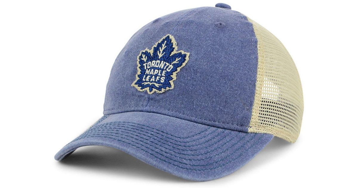 Lyst - adidas Toronto Maple Leafs Sun Bleached Slouch Cap in Blue for Men dafc6500d892