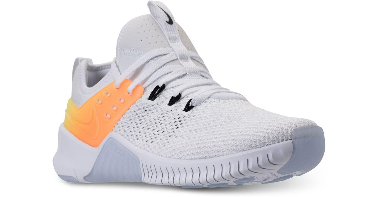 new style 69f05 acc9d Nike Free Metcon Training Sneakers From Finish Line in White for Men - Lyst