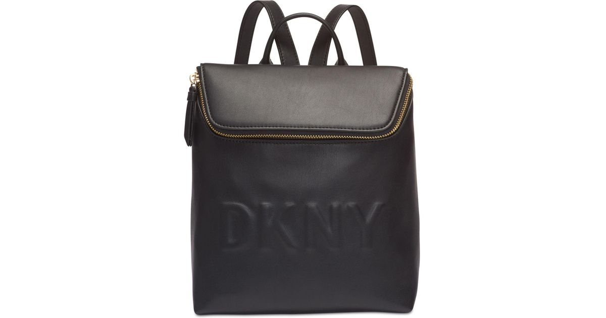 aa4f2eff88 Lyst - DKNY Tilly Small Logo Backpack