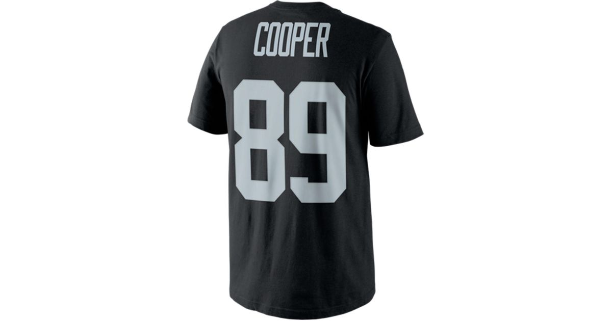 b923cacb559 Nike Men's Amari Cooper Oakland Raiders Pride Player T-shirt in Black for  Men - Lyst