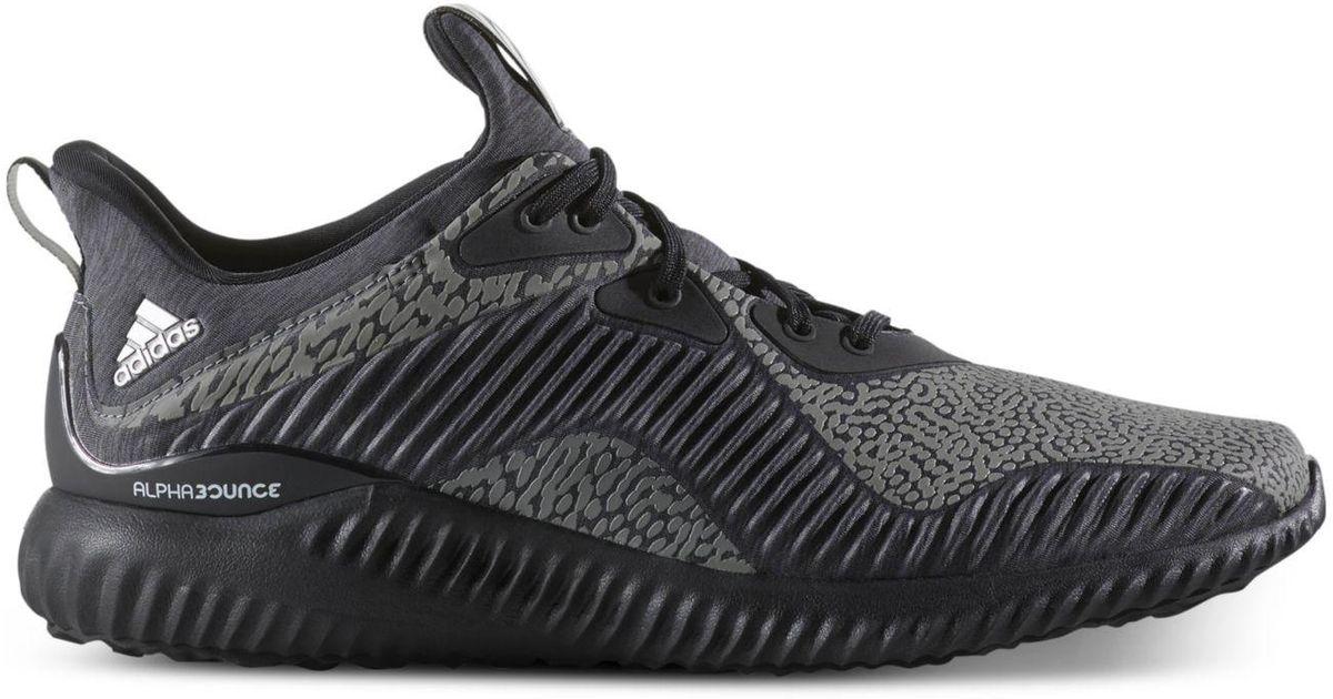 lyst adidas uomini li alphabounce hpc scarpe da corsa in nero per gli uomini.