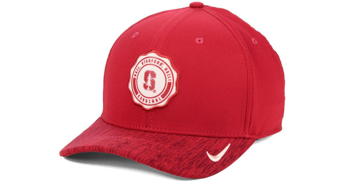 detailed look ee2c1 41bfd Nike Stanford Cardinal Rivalry Cap in Red for Men - Lyst