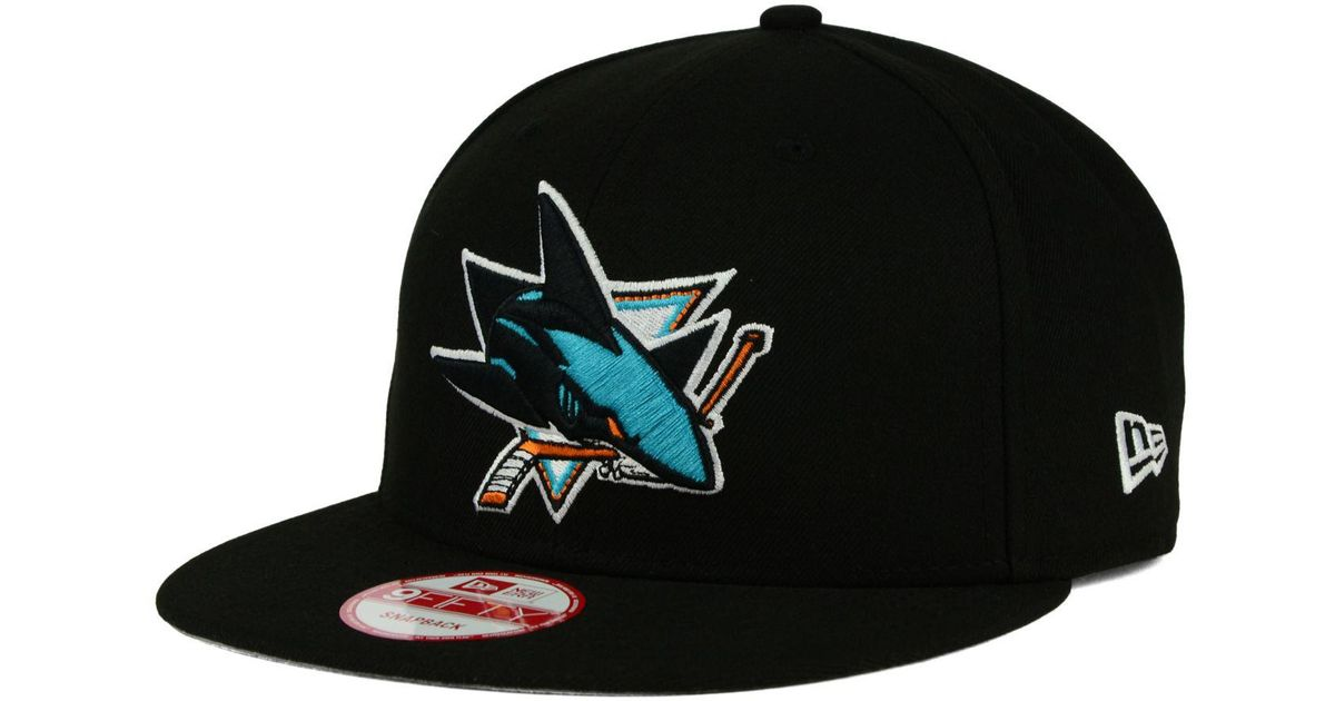 Lyst - KTZ San Jose Sharks All Day 9fifty Snapback Cap in Black for Men 9809493941b