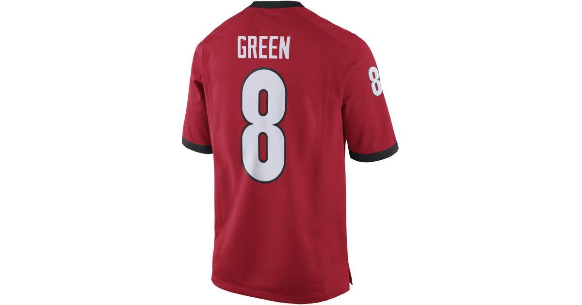 aj green georgia jersey