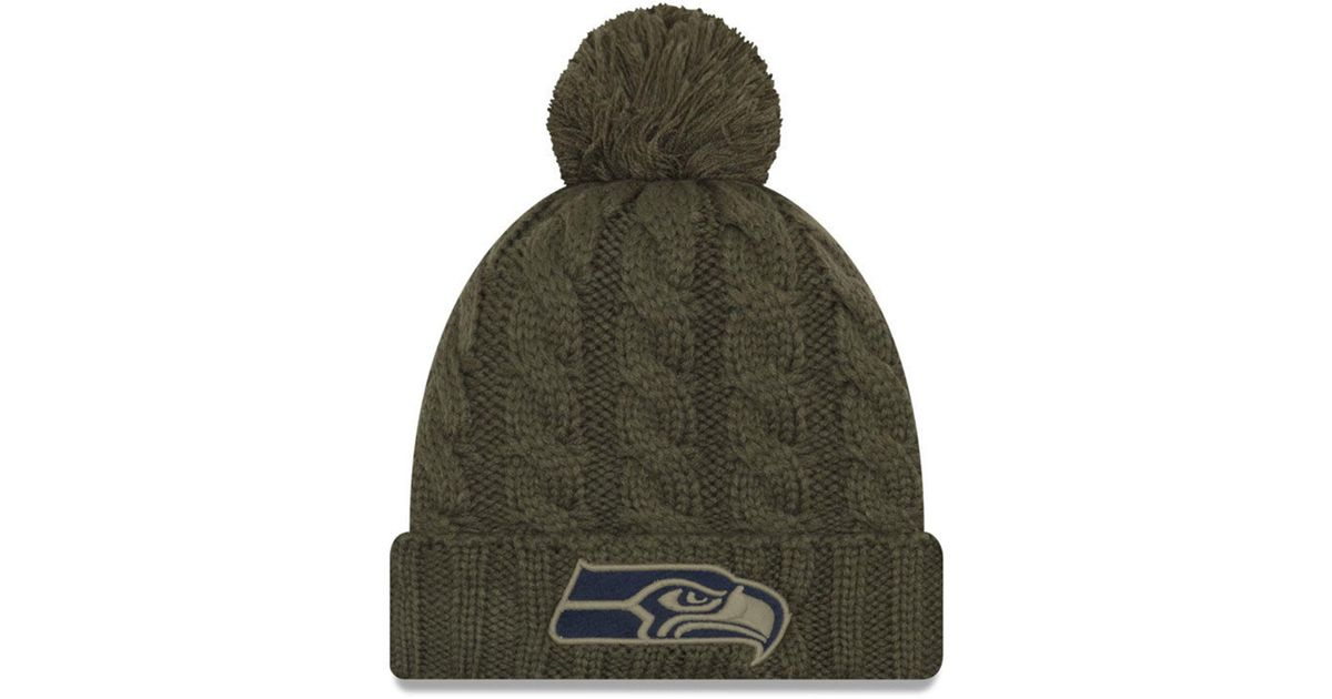 ddec5553 official store seattle seahawks salute to service hat 8d797 f74d9