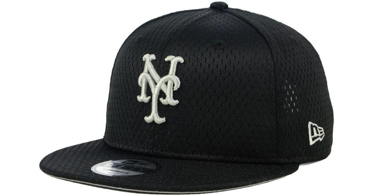 the best attitude 22329 188d6 Lyst - KTZ New York Mets Batting Practice Mesh 9fifty Snapback Cap in Black  for Men