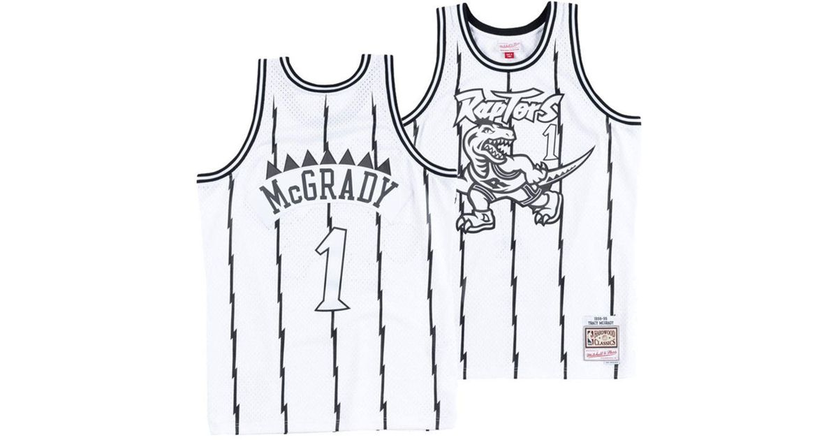 ce1333672e1 Mitchell & Ness Tracy Mcgrady Toronto Raptors Concord Collection Swingman  Jersey in White for Men - Lyst