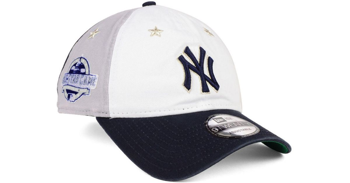8423c8b0cedd4 KTZ New York Yankees All Star Game 9twenty Strapback Cap 2018 in Blue for  Men - Lyst