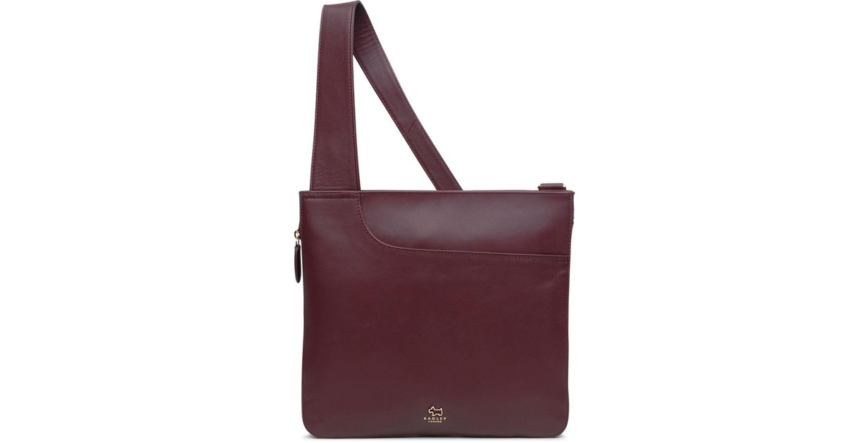 68bfd8bf3b2 Radley - Purple Pocket Bag Zip-top Crossbody - Lyst