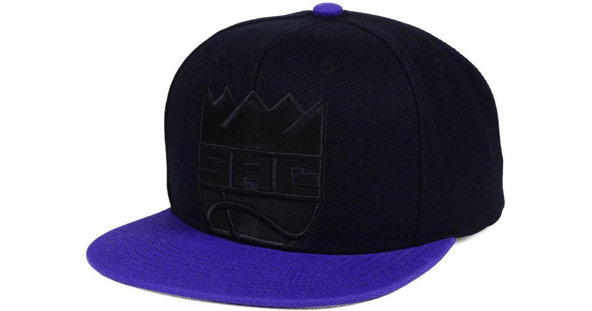 Lyst - Mitchell   Ness Sacramento Kings Cropped Satin Snapback Cap for Men fa116270419f