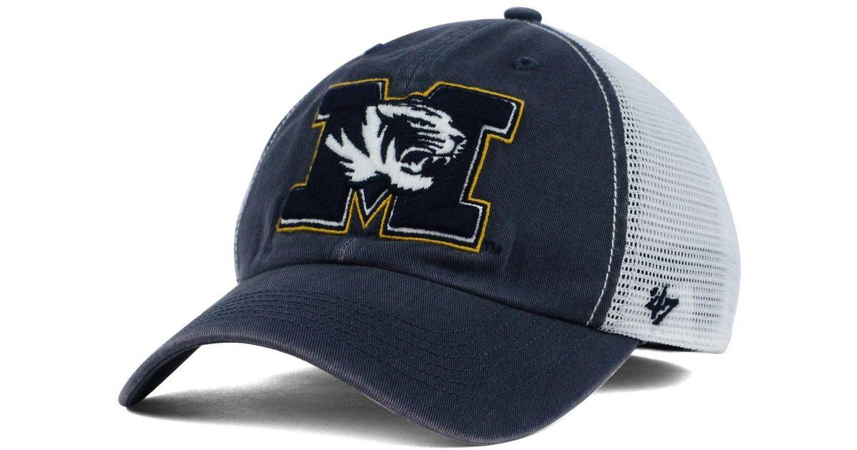 purchase cheap 9da2a 958e8 47 Brand Missouri Tigers Stretch-fit Griffin Cap in Blue for Men - Lyst