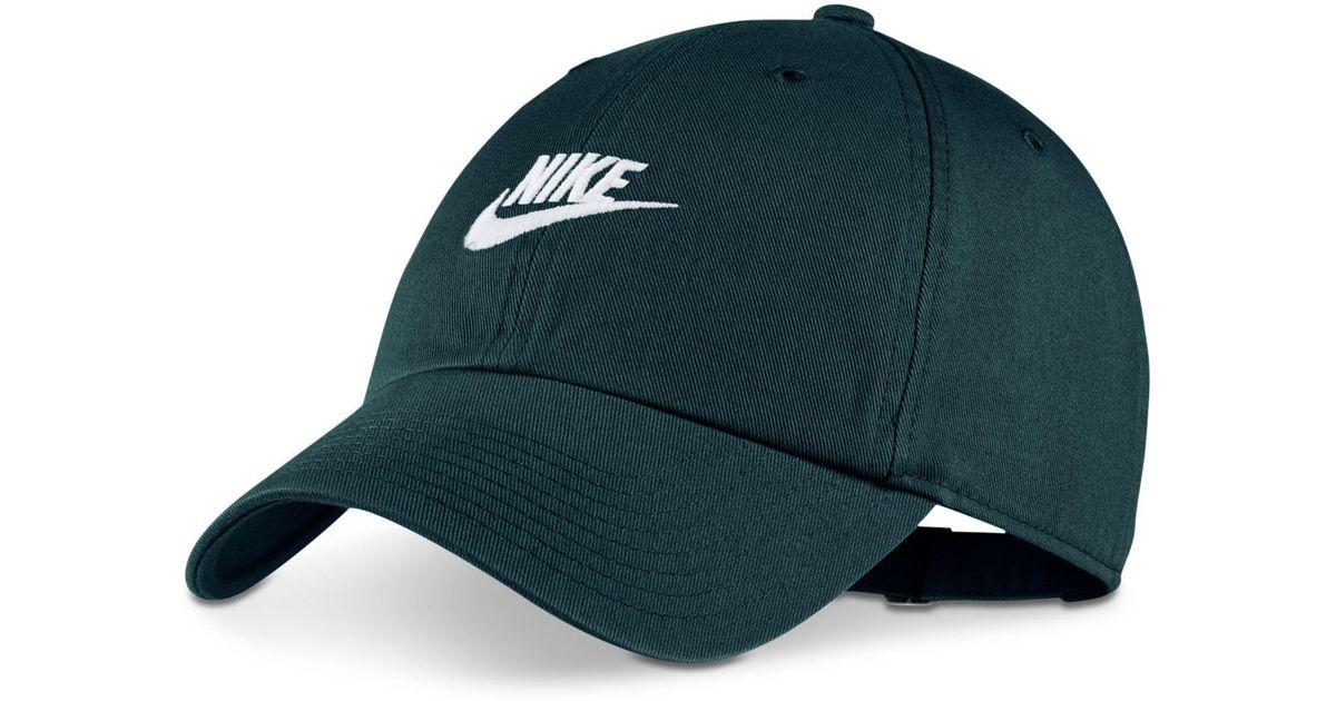 quality design 59136 1a947 Nike Sportswear Futura Twill Hat for Men - Lyst