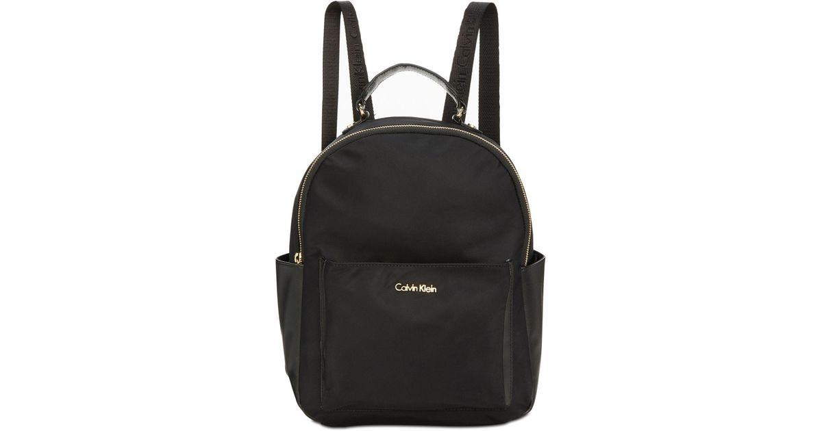 f1c2f3fe67b Lyst - CALVIN KLEIN 205W39NYC Collaboration Backpack in Black