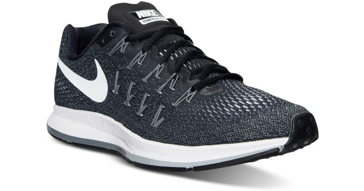 dc6df3f1e56 Lyst - Nike Men s Air Zoom Pegasus 33 Running Sneakers From Finish Line in Black  for Men